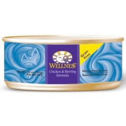 Wellness Chicken & Herring Formula Canned Cat Food