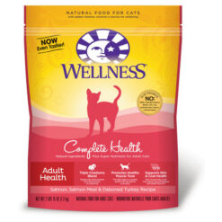 Wellness Complete Health Salmon, Salmon Meal & Deboned Turkey Adult Dry Cat Food