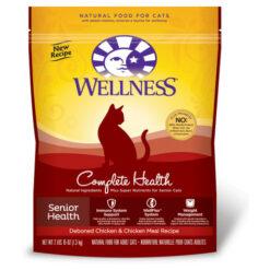 Wellness Complete Health Senior Health Deboned Chicken & Chicken Meal Recipe Dry Cat Food