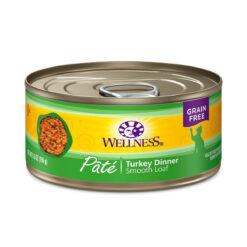 Wellness Pate Turkey Dinner Canned Cat Food