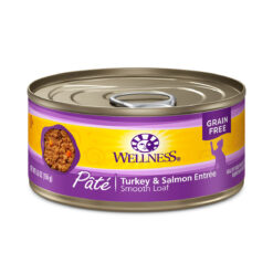 Wellness Pate Turkey & Salmon Entree Canned Cat Food