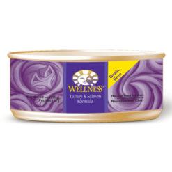 Wellness Turkey & Salmon Formula Canned Cat Food