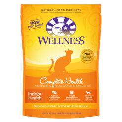 Wellness Complete Health Indoor Health Deboned Chicken & Chicken Meal Dry Cat Food