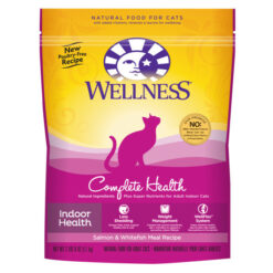 Wellness Complete Health Indoor Health Salmon & Whitefish Meal Dry Cat Food