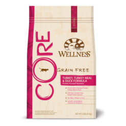 Wellness CORE Cat Turkey, Turkey Meal and Duck Dry Formula