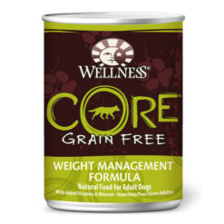 Wellness CORE Grain Free Weight Management Formula Canned Dog Food