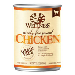 Wellness Grain Free 95% Chicken Canned Dog Food