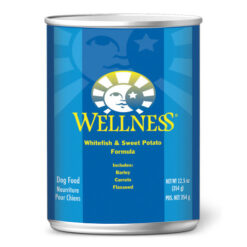 Wellness Complete Health Whitefish & Sweet Potato Formula Canned Dog