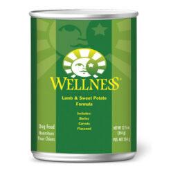 Wellness Complete Lamb & Sweet Potato Formula Canned Dog