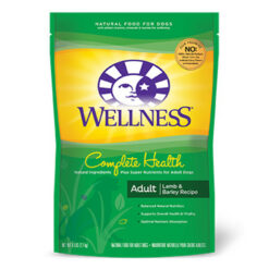 Wellness Complete Health Lamb, Barley & Salmon Meal Adult Dry Dog Food