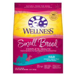 Wellness Complete Health Small Breed Adult Whitefish, Salmon Meal & Pea Dry Dog Food