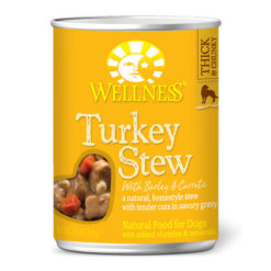 Wellness Turkey Stew with Barley & Carrots Canned Dog Food