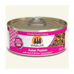 Weruva Asian Fusion with Tuna & Shirasu Grain-Free Canned Cat Food