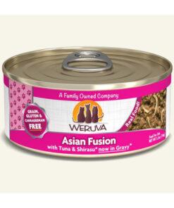 Weruva Asian Fusion with Tuna & Shirasu Grain-Free Canned Cat Food