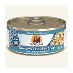 Weruva Grandma's Chicken Soup with Chicken & Pumpkin Grain-Free Canned Cat Food