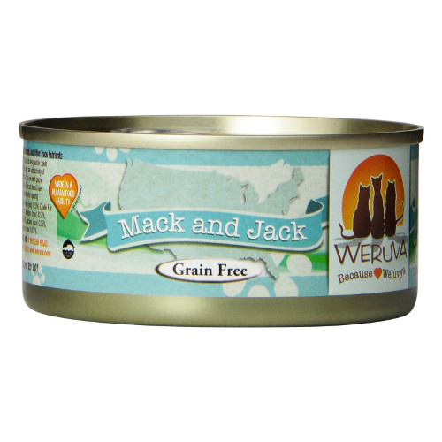 Weruva Mack and Jack Canned Cat Food