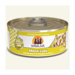 Weruva Meow Luau with Mackerel & Pumpkin Grain-Free Canned Cat Food