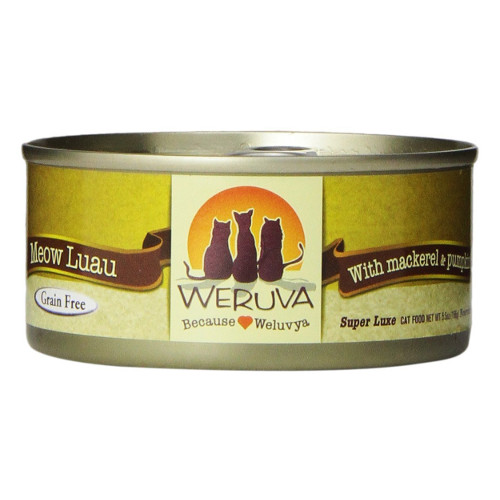 Weruva Meow Luau Canned Cat Food