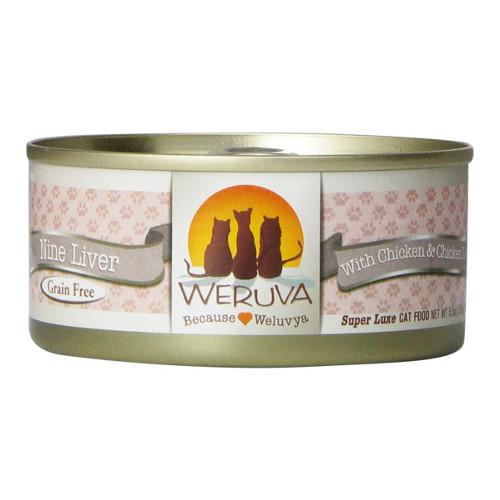 Weruva Nine Liver Canned Cat Food