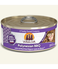 Weruva Polynesian BBQ with Grilled Red Bigeye Grain-Free Canned Cat Food