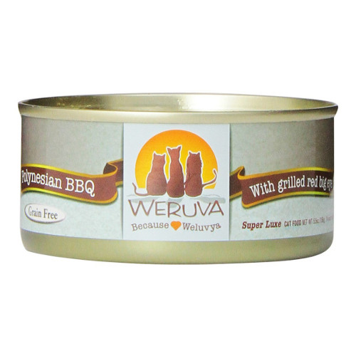Weruva Polynesian BBQ Canned Cat Food