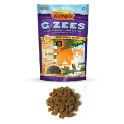 Zuke's G-Zees Tasty Turkey Recipe Cat Treats