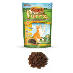 Zuke's Natural Purrz Tender Chicken Recipe Cat Treats