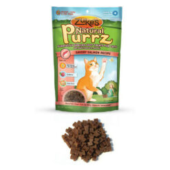 Zuke's Natural Purrz Savory Salmon Recipe Cat Treats