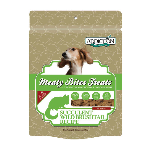 Addiction Meaty Bites Wild Brushtail Dog Treats