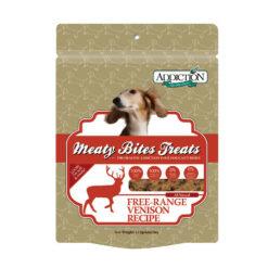 Addiction Meaty Bites Venison Dog Treats