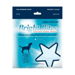 Bright Bites Daily Dental Cool Peppermint Flavor Medium Dog Treats