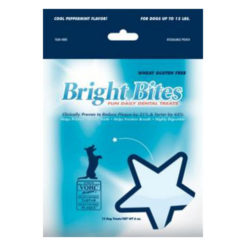 Bright Bites Daily Dental Cool Peppermint Flavor Small Dog Treats