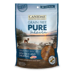 Canidae Grain-Free PURE Heaven Biscuits with Duck & Chickpeas Crunchy Dog Treats