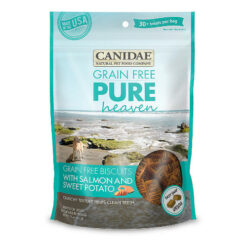 Canidae Grain-Free PURE Heaven Biscuits with Salmon & Sweet Potato Crunchy Dog Treats