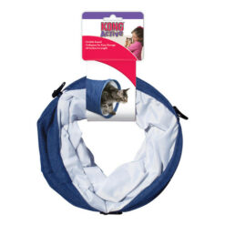 KONG Active Denim Tunnel Cat Toy