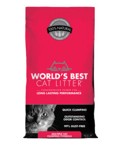 World's Best Cat Litter Scoopable Multiple Cat Clumping Formula