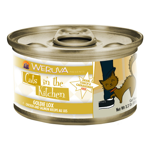 Weruva Cats in the Kitchen Goldie Lox Canned Cat Food 6oz