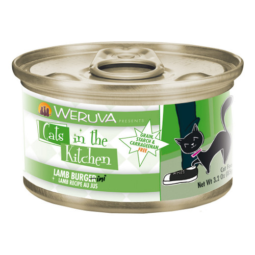 Weruva Cats in the Kitchen Lamb Burgini Canned Cat Food