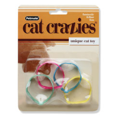 Booda Cat Crazies Playrings Cat Toys