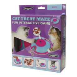 Nina Ottosson Cat Treat Maze Plastic Interactive Cat Toys
