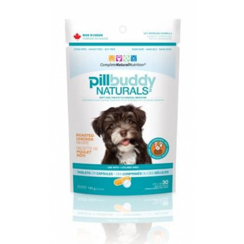 Complete Natural Nutrition Pill Buddy Naturals Chicken Dog Treats