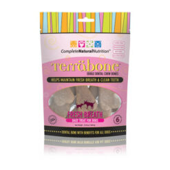 Complete Natural Nutrition Terrabone Fresh Breath Value Pack Dog Treats