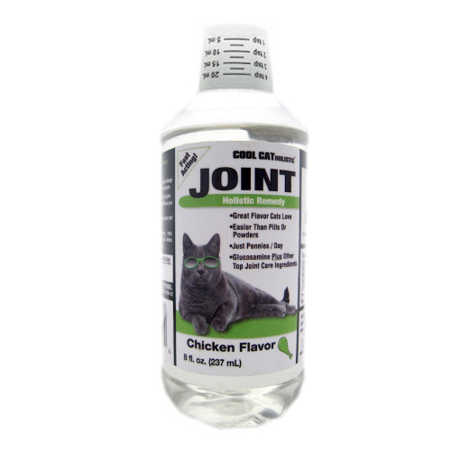 Cool Cat Holistic Joint Formula in Chicken Flavor 8oz