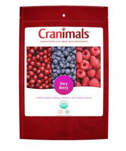 Cranimals Very Berry Supplements