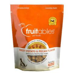 Fruitables Sweet Potato & Pecan Flavor Crunchy Dog Treats
