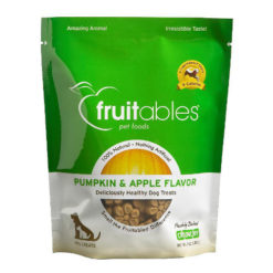 Fruitables Pumpkin & Apple Flavor Crunchy Dog Treats