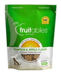 Fruitables Pumpkin & Apple Flavor Crunchy Dog Treats