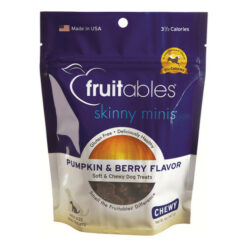 Fruitables Skinny Minis Pumpkin & Berry Flavor Soft & Chewy Dog Treats