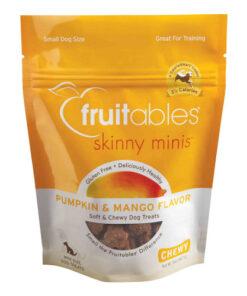 Fruitables Skinny Minis Pumpkin & Mango Flavor Soft & Chewy Dog Treats