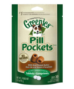 Greenies Pill Pockets Canine Peanut Butter Flavor Dog Treats